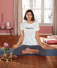 Móda a nápady pro Váš komfort – Nyní online v Tchibo! Atlanta, V Neck, T Shirts For Women, Buddha, Relax, Fashion, Moda, Fashion Styles, Fashion Illustrations