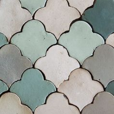 blue scallop tile - Google Search