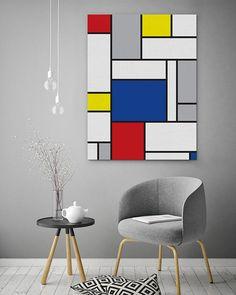 Clever Contradictions: Interior Design Trends For. Modern Art Prints, Modern Wall Art, Wall Art Prints, Decoration, Art Decor, Home Decor, Paint Designs, Pop Art, Interior Design