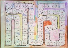 Desková hra - násobilka - 3. třída - využití kartiček s dvojicemi činitelů