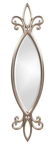 Howard Elliott Hillary Oval Mirror