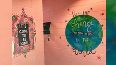 Now Playing: Woman paints motivational murals in middle school girls' bathrooms       Now Playing: EXCLUSIVE: US Coast Guard stops alleged cocaine smugglers on the high seas        Now Playing: Roofs ripped off Puerto Rico building       Now Playing: Firefighter helps deer hydrate after... - #Girls, #Middle, #Motivational, #Murals, #Paints, #School, #TopStories, #Woman