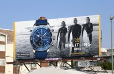 Fashion and beauty billboards turning heads in L. Billboard Design, Advertising, Skyline, City, Breitling, Travel, Beauty, Banner, Posters
