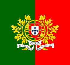 "portuguese flag | Motto : "" Esta é a ditosa Pátria minha amada "" ("" This is my beloved ..."