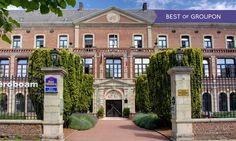 Best Western Hôtel Hermitage à Montreuil : 1 à 3 nuits avec petit déjeuner et dîner dans le Pas-de-Calais: #MONTREUIL 69.00€ au lieu de…