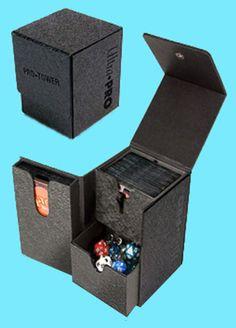 1 X DECK BOX LIGHT BLUE boite protection rangement pour carte magic ULTRA PRO