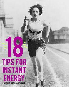 18 Tips for Instant Energy (Without Coffee or Red Bull) | And Then We Saved