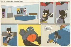 Batman loves Robin