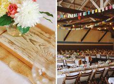 Pretty, simple countryside wedding by Hey Look.