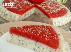Strawberry Drop Gum Pudding – L Cake Recipes, Snack Recipes, Dessert Recipes, Breakfast Recipes, Snacks, Desserts, Mousse Au Chocolat Torte, Turkish Recipes, Ethnic Recipes