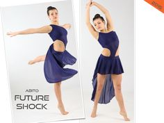 FUTURE SHOCK costume danza saggio