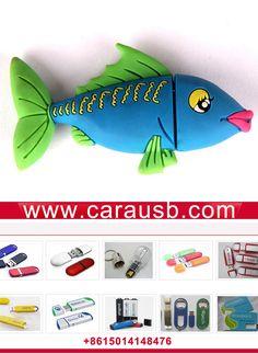custom fish shaped usb drives Cartoon fish Mermaid Shape PVC USB Disk 8GB blue promotional gifts