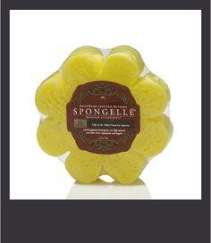 Spugna Spongelle dosata per 10+ lavaggi al profumo di Mughetto e Green Tea