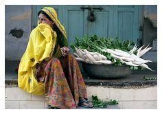 radishes, Pushkar... - Pushkar, Rajasthan