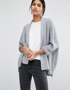 Warehouse | Warehouse – Asymmetrische Strickjacke