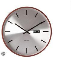 Dit heb ik gekocht bij bol.com: Karlsson Klok Date - Zilver - http://go.bol.com/pb/1001024390232437