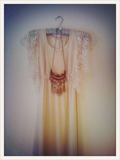 from the blog Coquette & Dove: hippie necklace
