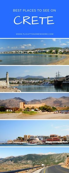 Travel guide to the Greek island of Crete, including Chania, Rethymnon, Imbros Gorge and Frangocastello #crete #greekislands #rethymnon #chania #imbrosgorge