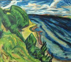 Heckel, coastline 1910