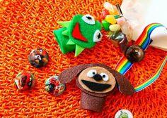 : Mini-Muppet Finger-Puppet Favor Bags