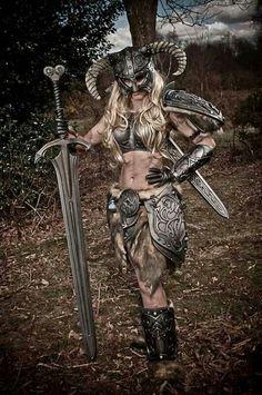 Skyrim cosplay by Tabitha Lyons