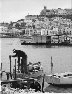Ibicenco Fisherman, Eivissa Antigua #IbizaAntigua #eivissa