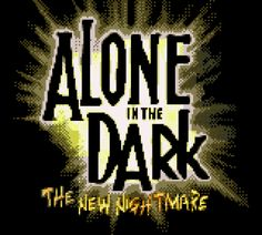 Alone in the Dark - The New Nightmare title Gameboy Games, Alone In The Dark, New Nightmare, Finals, The Darkest, Color, Final Exams, Colour, Colors