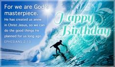 Send this FREE God's Masterpiece eCard to a friend or family member!  Send free Birthday ecards to your friends and family quickly and easily on CrossCards.com. Share an animated Birthday eCard or a cute and funny ecard with your family and friends, it's easy!  Find that perfect Birthday card, add a personalized message, then press send!  That's all it takes to brighten the day of a friend with a FREE eCard!  CrossCards.com – Free Christian inspired online greeting cards.