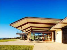 center glazed pavilion hover overs roof form