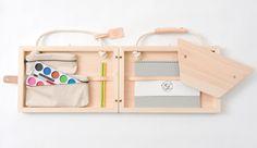 Atelier Book Chair by Kana Nakanishi