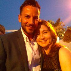 Craig Parker and Megan Follows (photo credit: Tiffany Vogt)