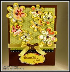 card by Candra Holmes using CTMH Chantilly paper. (photo color is yellowed, but this IS chantilly!)