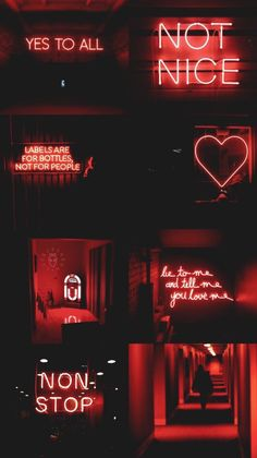 Red aesthetic Hella love the neon😍🎆 Bad Girl Wallpaper, Mood Wallpaper, Iphone Background Wallpaper, Retro Wallpaper, Dark Wallpaper, Wallpaper Wallpapers, Trendy Wallpaper, Velvet Wallpaper, Iphone Backgrounds