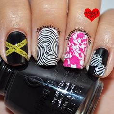 halloween  by heartnat24  #nail #nails #nailart