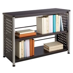 This Scoot 2-shelf Bookcase will bring organization and style to any office, reception area or lounge. With two (2) shelves, this bookcase has more than enough space for the avid bookworm.