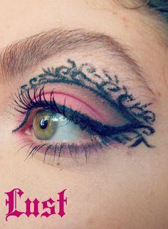 Seven Deadly Sins: Lust https://www.makeupbee.com/look.php?look_id=99221
