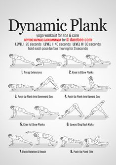 Dynamic Plank Workout