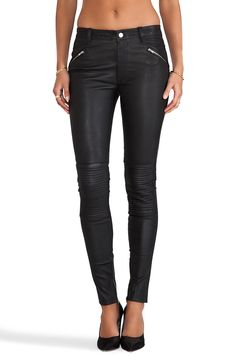 #REVOLVEclothing Leather Pant 1 BLK DNM