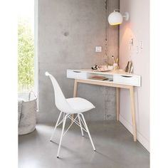 The Basic Facts Of White Desk Bedroom Small Spaces 00012 - beterhome White Corner Desk, Small Corner Desk, Desks For Small Spaces, Small Home Offices, Desk In Small Space, Small Office Desk, Corner Vanity, Small White Desk, Modern Corner Desk