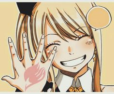 """Lucy  """"Fairy tail isn't gone yet, it will always be in our hearts."""""""