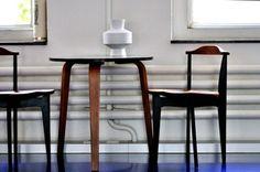 Yngve Ekström Chairs, table by Alvar Aalto, attr. - available as an ensemble