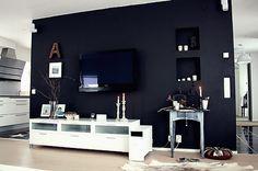 svarta väggen | Helt enkelt