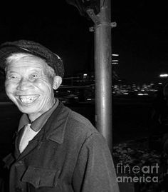 Title  Man On The Street China    Artist  Cathy Anderson   Medium  Photograph - Photograph