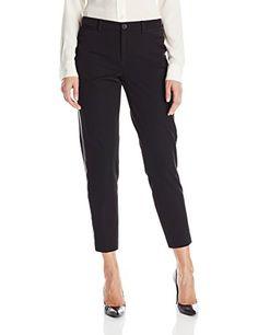 a5f814f9f77e6 NYDJ Women s Noelle Ankle Pants In Refined Stretch with Tuxedo Stripe