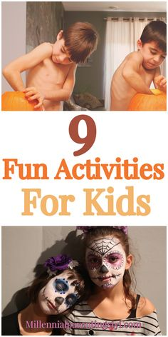 9 Fun Activities For Kids. Fall is the time for indoor activities. Kids will have fun playing these indoor activities. Indoor Activities For Kids, Toddler Activities, Thing 1, Mom Hacks, Work From Home Moms, Raising Kids, Parenting Hacks, Kids Learning, Breastfeeding