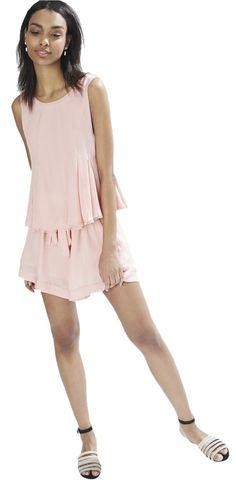 603edf1868c1 Rebecca Minkoff Sherbert Pink Gene Romper Jumpsuit 43% off retail