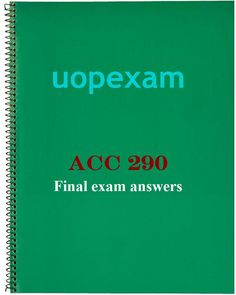 acc 291 learning team final A web-based deck of acc 291 uop tutorial,acc 291 uop entire course flash cards acc 291 final exam acc 291 week 5 learning team assignment paper huffman trucking click below url to buy course tutorial.