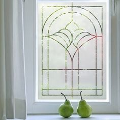 Art Deco Designs|Etched Glass Effect Film|Purlfrost - The name for window film and wall coverings.