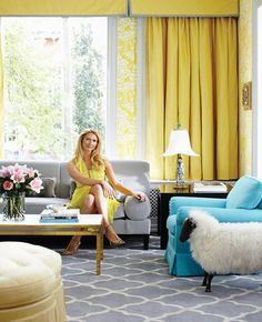 Yellow Grey Turquoise Living Room Sofa Small 98 Best My Colour Scheme And Love It Images Philip Gorrivan Design Rooms The Vase Wallpaper David Hicks