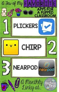 Favorite Things Linky: Apps for a Flipped Classroom